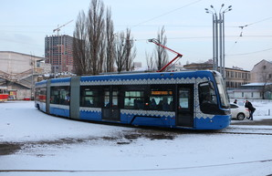В Киеве проектируют трам-трейн на Троещину: три варианта маршрута