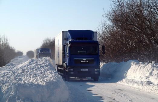 Почти все дороги Одесской области закрыты (ВИДЕО)