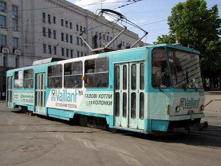 В Харькове закупают десять подержанных трамваев для замены ими старых вагонов