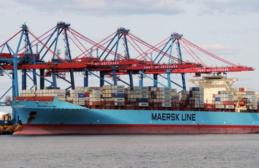 Контейнерные перевозки Maersk переходят из Одессы в порты Южного и Черноморска