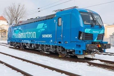 Siemens представила новый грузовой электровоз Smartron