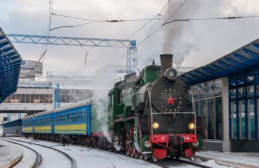 8 марта в Киеве запустят ретро поезд с паровозом
