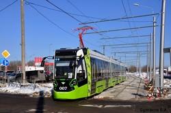 В Санкт-Петербурге запустили первый маршрут частного концессионного трамвая (ФОТО)