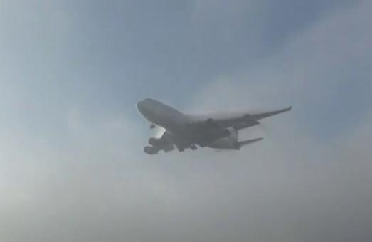 Из-за тумана аэропорт Одессы работает с перебоями