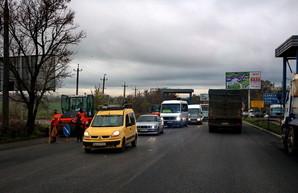 На выезде из Одессы будет транспортная развязка в два уровня