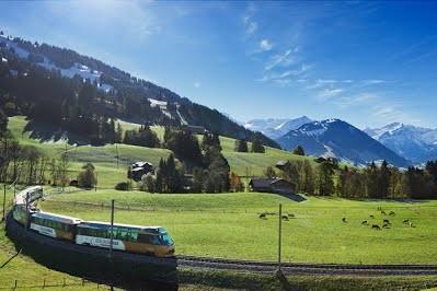 Швейцария закупает экспресс-поезда с раздвижными колесными парами