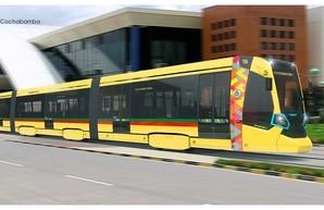 В одном из городов Боливии начинают строить линию скоростного трамвая