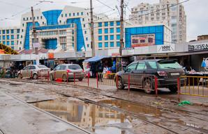 В Одессе трамвайные пути будут ограждать от машин и пешеходов