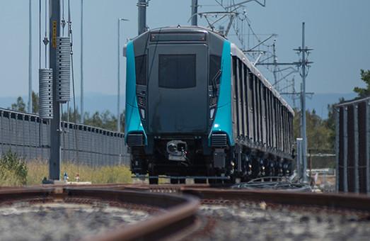 В Австралии начинаются испытания поездов автоматизированного метро