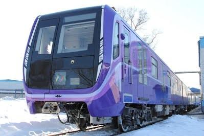 В столицу Азербайджана прибывают первые новые поезда метро российского произвосдства