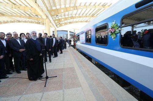 20 марта город Керманшах на западе Ирана присоединился к национальной сети железных дорог