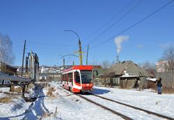 В Волгограде началось пополнение трамвайного парка вагонами модели 71-623