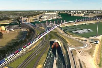 Порт Роттердама построит новую грузовую железнодорожную линию
