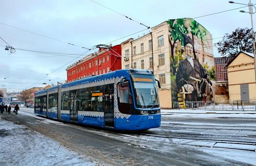 Киев за 2018 год купит 20 новых новых низкопольныхтрамваев