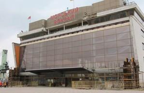 Как ремонтируют морской вокзал в Одессе (ФОТО)