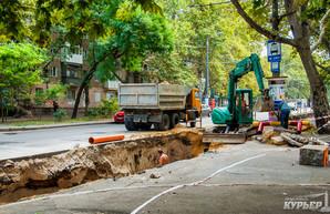 Улицу Сегедскую в Одессе перекроют: снова ремонт теплотрассы