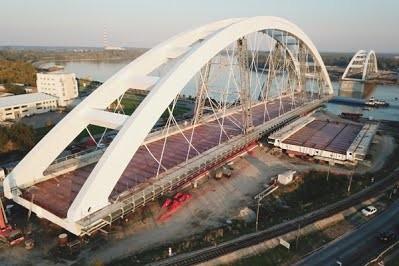 В Сербии завершили строительство нового моста