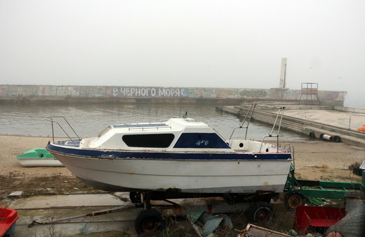 Из-за тумана морской порт Одессы работает с перебоями