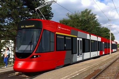 В Швейцарию начались поставки новых трамваев Tango производства Stadler
