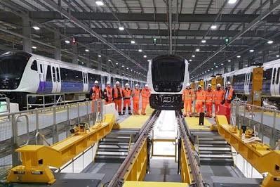 Транспортная администрация Лондона заказала пять дополнительных поездов для проекта Crossrail