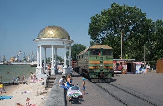 Железную дорогу к порту Бердянска модернизировали