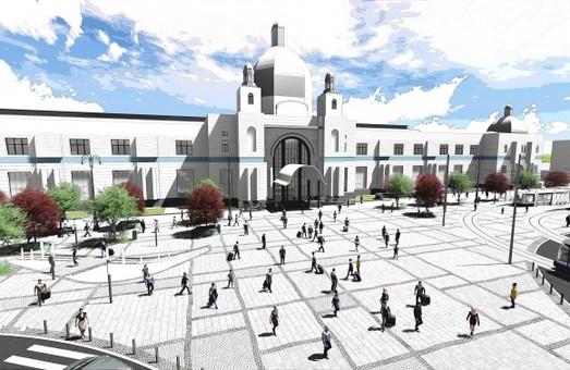 Во Львове представили новый проект реконструкции площади у вокзала (ФОТО)