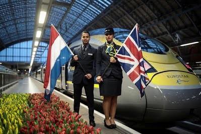 Между столицами Англии и Нидерландов запустили регулярное движение поездов