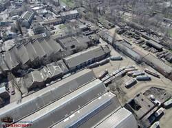 Как выглядит самое старое трамвайное депо Одессы с высоты птичьего полета (ФОТО, ВИДЕО)