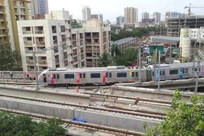 В индийском Мумбаи построят новую линию метро