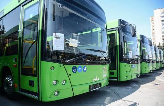 Общественный транспорт Житомира пополнили новые муниципальные автобусы МАЗ