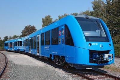 Германия объявила тендер на поставку поездов на водородном топливе