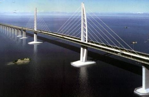 В Китае построят самый длинный «морской» мост в мире