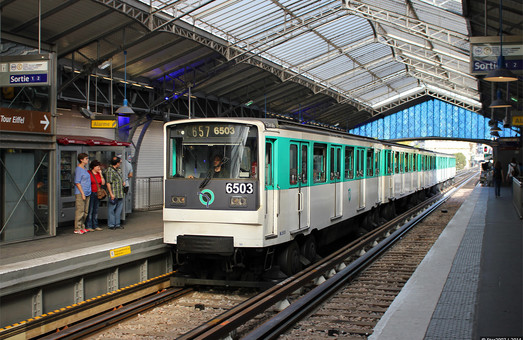 В парижском метро модернизируют автоматическое ведение поездов на 6-й линии