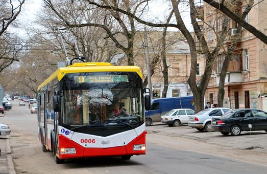 Исполком утвердил отчет выполнения программы развития электротранспорта Одессы за прошлый год