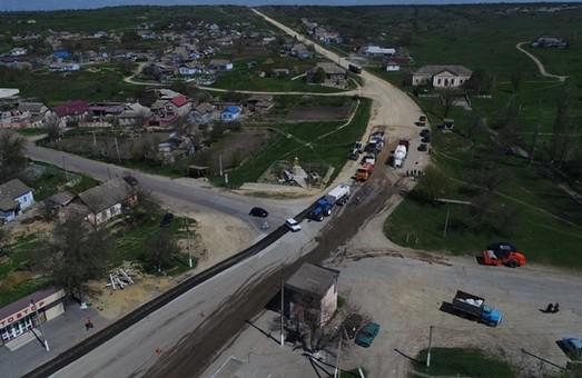 В Одесской области начался ремонт автотрассы на Вознесенск (ФОТО)