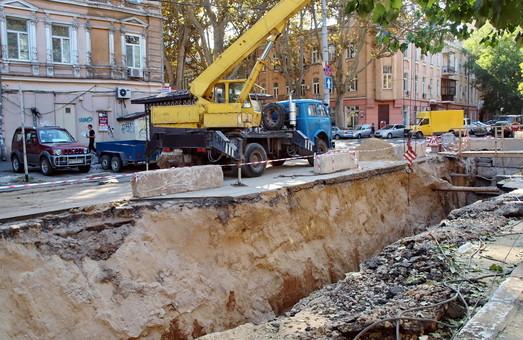 В центре Одессы перекроют две улицы ради ремонта теплотрассы