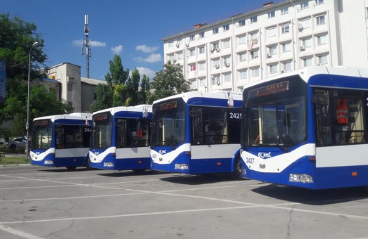 В Кишиневе запустили троллейбус в пригороде