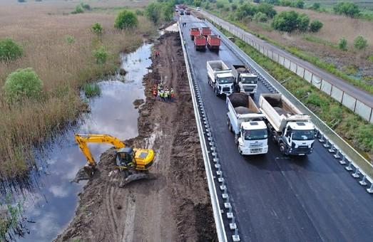 В Одесской области перед открытием испытали мост возле Паланки