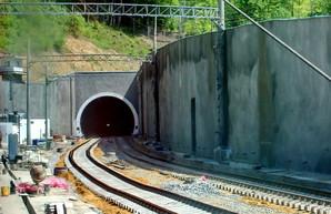 Как выглядит Бескидский тоннель незадолго до открытия (ФОТО)