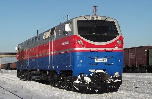 """В США начали сборку первого локомотива для """"Укрзализныци"""" (ФОТО)"""