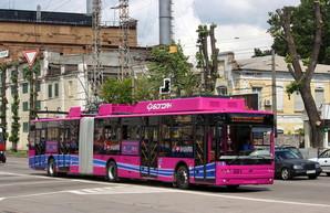В Кременчуге на маршрут вышли новые троллейбусы (ФОТО)