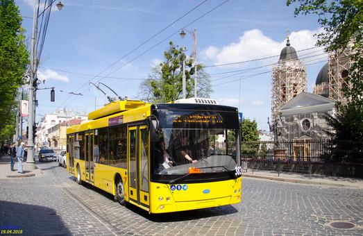 В Черновцах испытывают автономные троллейбусы