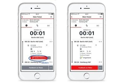 Железные дороги Германии введут онлайн-регистрацию при помощи смартфона во всех высокоскоростных поездах