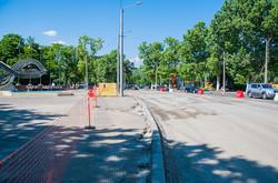 Как в Одессе расширяют проезжую часть на проспекте Шевченко (ФОТО)