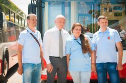 В Одессе презентовали еще шесть новых троллейбусов (ФОТО)