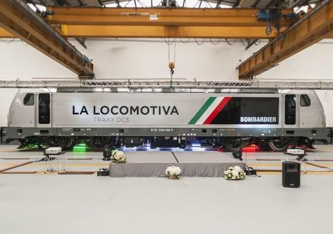 Bombardier презентовала новый электровоз