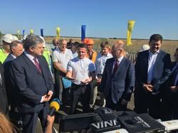 Пётр Порошенко торжественно открыл мост на трассе Одесса - Рени (ФОТО)