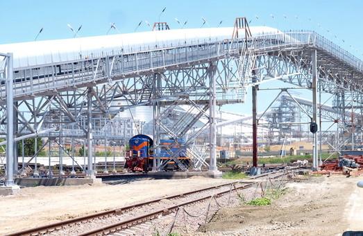 В Николаеве открыли новый зерновой терминал