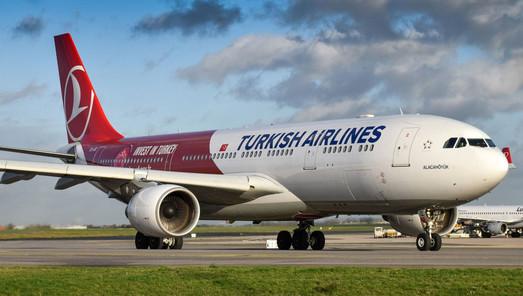 Turkish Airlines увеличили количество авиарейсов на линии Одесса-Стамбул