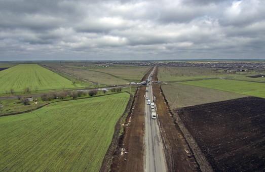 Одесские чиновники отчитались о завершении ремонта дороги на Килию